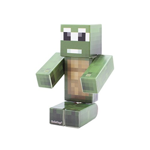 Turtle Pixelaction Figure by EnderToys - un Giocattolo di Plastica