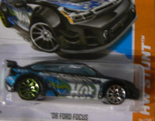 Hot Wheels HW Stunt 84/250 Black '08 Ford Focus