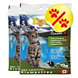 Doppelpack Tigerino Canada Katzenstreu