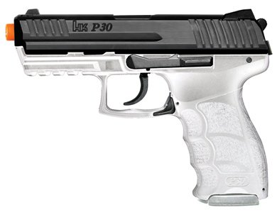 H&K P30 Clear Electric Airsoft Pistol - 0.240 Caliber