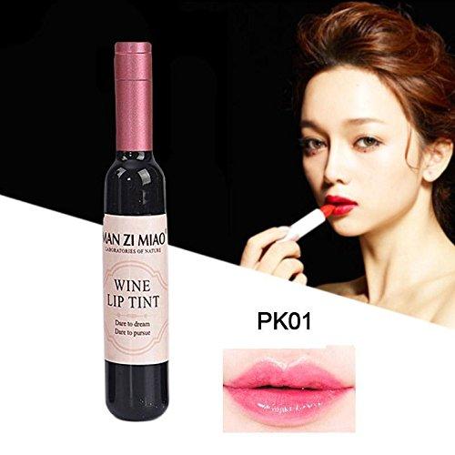 Htgtai Wine Lip Balm (7g) Tinted Lip Whip Waterproof Long Lasting Stained Glaze Lip Gloss PK01