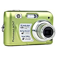 HP Photosmart M547 6.2MP 3x Optical/6x Digital Zoom Camera (Green) from hp