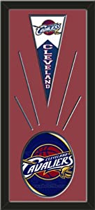 Cleveland Cavaliers Wool Felt Mini Pennant & Cleveland Cavaliers Team Logo Photo... by Art and More, Davenport, IA