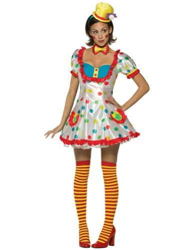 Clown Female Adult Costume
