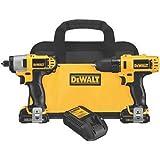 DEWALT DCK211S2 12-Volt Max Drill/Driver / Impact Driver Combo Kit