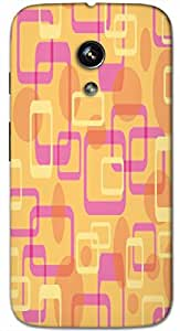 Timpax protective Armor Hard Bumper Back Case Cover. Multicolor printed on 3 Dimensional case with latest & finest graphic design art. Compatible with only Motorola Moto - G-1- 1st Gen. Design No :TDZ-21383