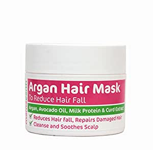Mamaearth Argan Hair Mask to Reduce Hairfall and Strengthen Hair Roots (200 ml)