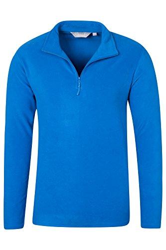parallel-mens-fleece-half-zip-hiking-walking-casual-mens-microfleece-cobalt-small