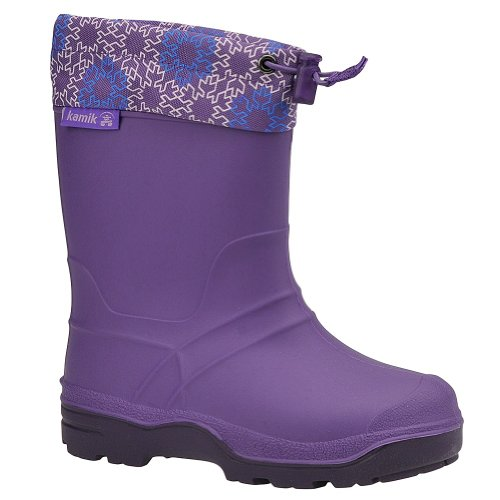 Kamik Kids Purple Snowkone6 8.0 B(M) US Toddler