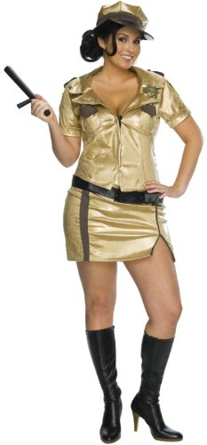 Reno 911 Secret Wishes Full Figure Deputy Johnson Costume