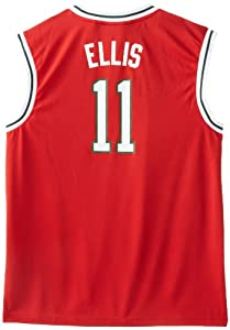 NBA Milwaukee Bucks Red Replica Jersey Monta Ellis #11 by adidas