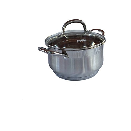 Parini Signature Series 4.0 Qt. Dutch Oven With Lid-Stainless (Parini Cookware compare prices)