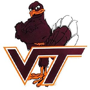 Buy NCAA Virginia Tech Hokies Car Magnet Hokie (Large, 2 Pack) by Game Day Outfitters
