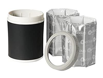 KOOLIO Premium Personal Beverage Cooler, Black