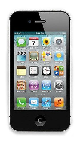 Apple iPhone 4S 16GB, 8MP, SIRI, 3G, GPS, WIFI Factory Unlocked (Never Lock) World Mobile Smart Phone (Black)