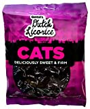 Gustaf's Traditional Dutch Cats Licorice 5.2 Oz Bag (Pack of 3)