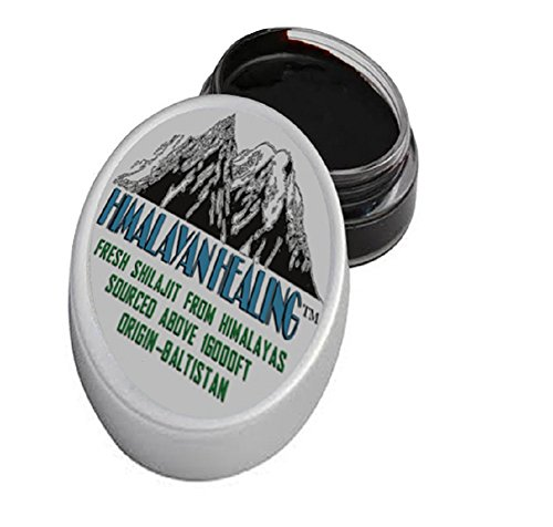 30 Grams - Himalayan Pure Shilajit - Purest and Instant - Directly from it's Origin- Siachen Baltistan Himalaya (Silajit, Salajeet) (Black Shilajit Resin compare prices)