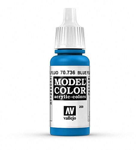 Vallejo Blue Fluorescent Paint, 17ml