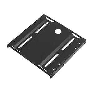 "Black Metal 2.5"" to 3.5"" ATX SSD Mounting Adapter Bracket Holder"