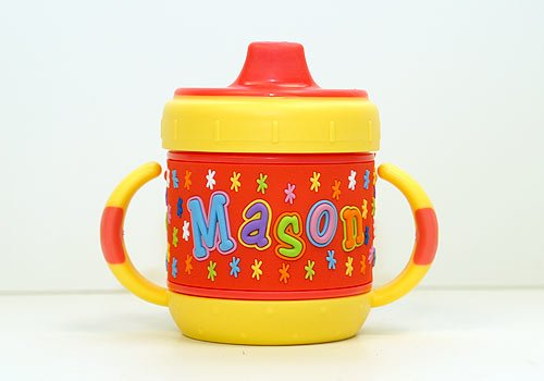 Personalized Sippy Cup: Mason front-813295