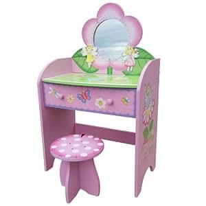 schminktisch fairy mit hocker spielzeug. Black Bedroom Furniture Sets. Home Design Ideas