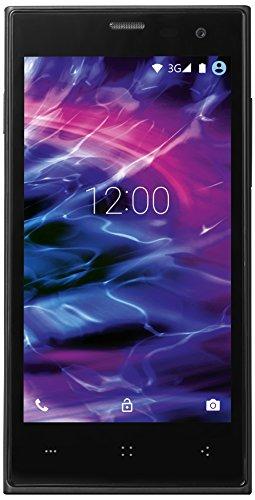 Medion P4502 Smartphone (11,4 cm (4,5 Zoll), 1,3GHz, 8GB Speicher, Android 4.4) schwarz