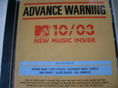 MTV Presents Advanced Warning III CD