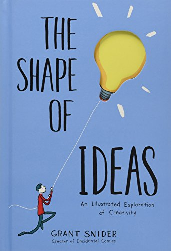 The Shape of Ideas: An Illustrated Exploration of Creativity [Snider, Grant] (Tapa Dura)