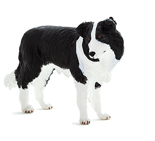 Mojo Fun 387203 Border Collie - Realistic Working Dog Toy Replica - NEW for 2014!