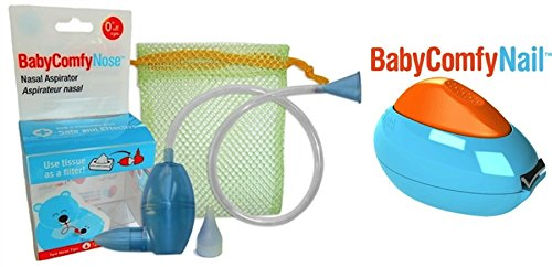 Baby Comfy Care Safety Bundle With Baby Comfy Nasal