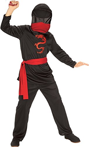 Rubies Masked Ninja Child Costume, Medium