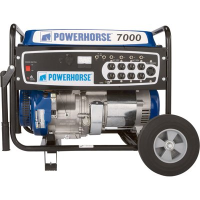 Powerhorse 5500-7000 Watts Portable Generator Review