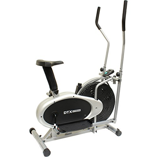 DTX Fitness 2 in 1 Elliptical Cross Trainer & Exercise Bike