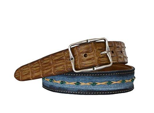 martinica-belt-h35-in-back-crocodile-leather-and-hand-embroided-jeans-size-90-colour-green-licorice-