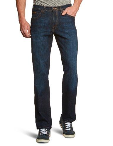Wrangler Herren Jeans Hoher Bund W12OXG38V, Gr. 40/34 (40/34), Blau (BROKEN PATINA 38V)