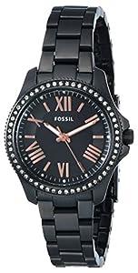 Fossil Women's AM4585 Analog Display Analog Quartz Black Watch