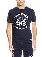 Russell Athletic Camiseta Manga Corta (Azul Marino)