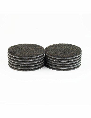 Filzgleiter-Mbelgleiter-rund-ca-762-cm-Durchmesser-extra-strapazierfhiger-Filz-selbstklebend-12-Stck-braun-als-Bodenschutz-fr-Mbelfe-Tischbeine-Stuhlbeine-Sthle-Made-in-Canada
