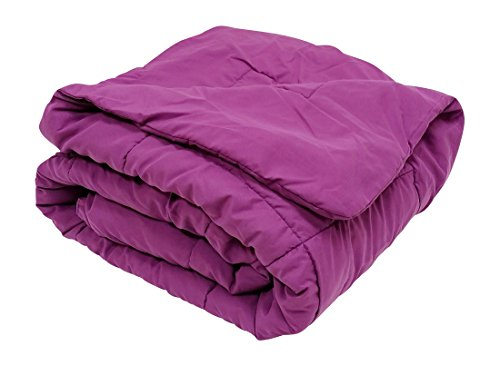 Multiple Sizes - High Quality Oversized Down Alternative Comforter Super Soft 90 Gsm- Purple-Full / Queen- Exclusively By Blowout Bedding Rn# 142035 front-830648