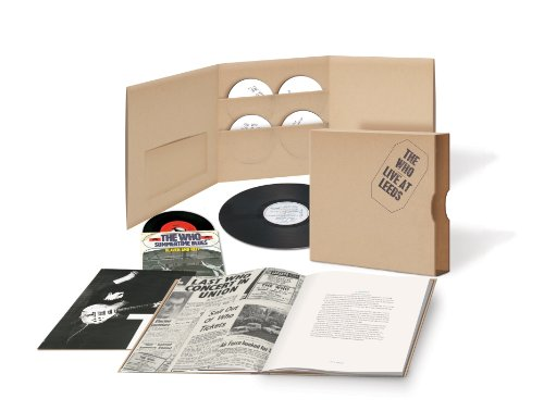 Who - Live at Leeds [Super Deluxe Edition] [4 CD + LP + 7 inch Vinyl] - Zortam Music