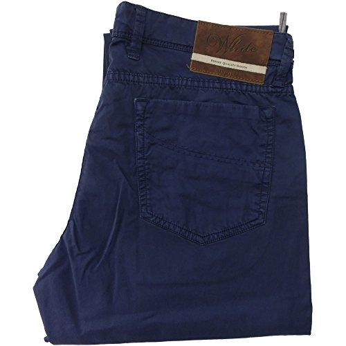 Siviglia pantalone 1009 uomo - elasticizzato 98% cotone 2% elastane, made in italy, Blu