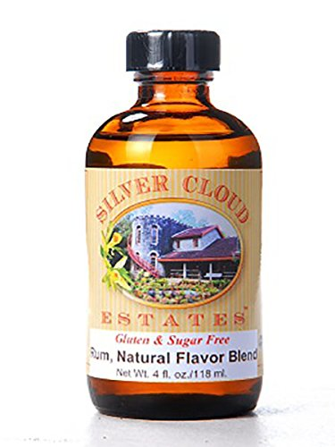 Rum Extract, Natural Flavor Blend - 4 Ounce Bottle (Natural Rum Extract compare prices)