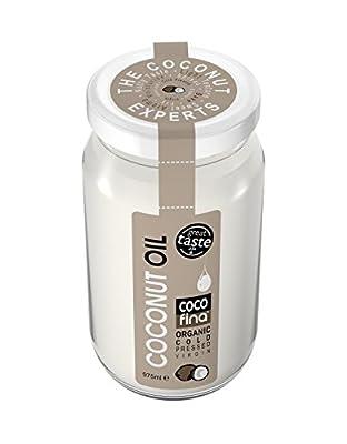 Cocofina Organic Cold Pressed Unrefined Coconut Oil 975 ml
