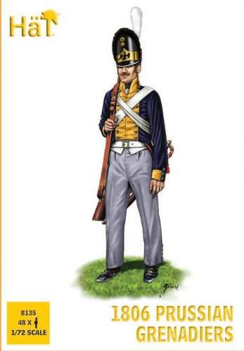 Hat Figures - 1806 Prussian Grenadiers - HAT8135