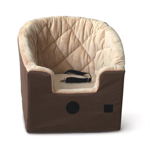 K&H Bucket Booster Pet Car Seat, Small, Tan