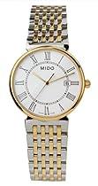 Mido M11309261 Watch Dorada Ladies M1130.9.26.1 White Dial Stainless Steel Case Quartz Movement
