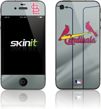 MLB | St. Louis Cardinals Alternate/Away Jersey | Skinit Skin for Apple iPhone 4 / 4S at Amazon.com