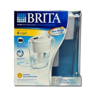 35250 Brita Space Saver Calendar-Minder OB21 48-Ounce Water Pitcher (Brita 48 Oz compare prices)