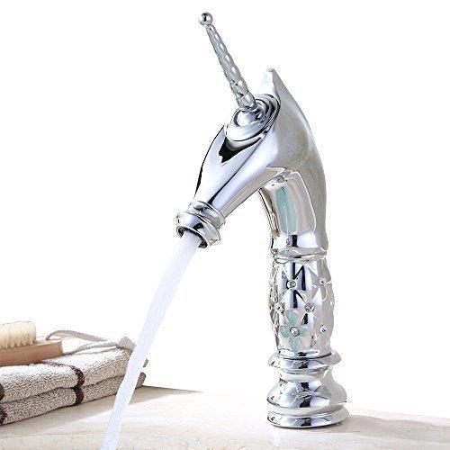 Homelody-Robinet-Mitigeur-Unicorn-argent-monocommande-pour-de-salle-de-bain-vasque-lavabo-bidet-baignoire-style-rococo-rtro-vintage-original-garantie-du-fabricant-bon-rapport-qualit-prix-haut-de-gramm