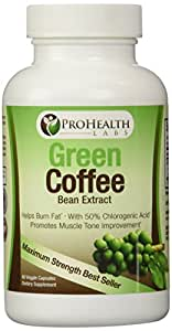 PURE GREEN COFFEE BEAN EXTRACT All Natural Diet Supplement Pills Recommended Fast Weight Loss, Bonus FREE eBOOK - Boosts Metabolism to Burn Fat - Made in the USA - RISK FREE Money Back GUARANTEE!!